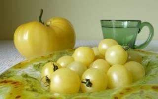 Белоснежные томаты – плоды спокойствия