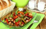 Теплые салаты – самые вкусные рецепты с фото