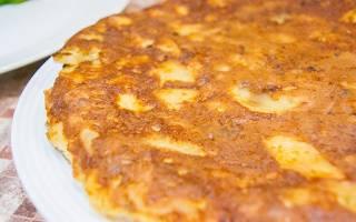 Омлет с картофелем по-испански