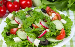 Салат из редиса