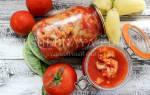Цветная капуста в томатном соусе