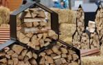 Как правильно укладывать дрова в поленницу