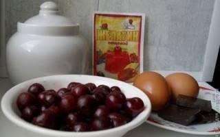 Жареные вишни на десерт