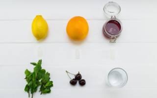 Вишнево-лимонный лимонад