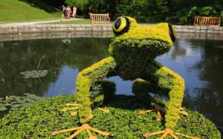 Невероятные скульптуры в ботаническом саду Атланты