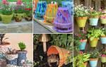 Вторая жизнь керамических горшков: 9 интересных идей для дачного hand made
