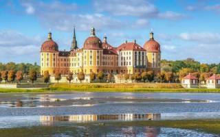 Парковый ансамбль охотничьего замка Морицбург