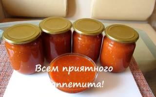 Домашний кетчуп в медленноварке