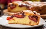 Нью-Йоркский сливовый пирог