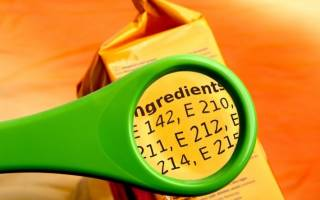 Пищевые добавки: много шума вокруг буквы «Е»