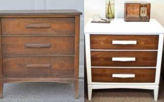 Как обновить старую металлическую мебель