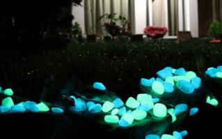 Светящийся камушек в вашем саду