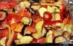 Как правильно запекать овощи в духовке