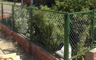 Дешевый забор на дачу – как купить и установить