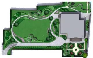 Этапы планировки участка за городом. Шаг 6 – озеленение по правилам
