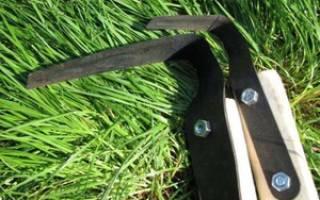 Плоскорез Фокина – как им работать и где купить настоящий инструмент