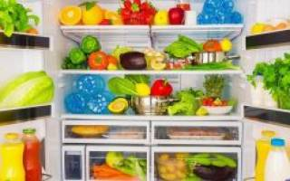 Продукты, которые не следует хранить в холодильнике