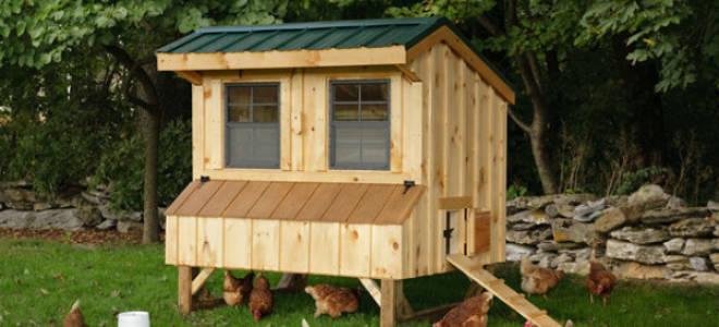 Готовые домики для кур – это просто
