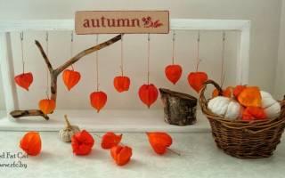 Декор своими руками: используем дары осени для украшения дома