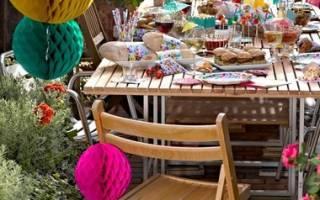 Праздник урожая: как устроить вечеринку на даче