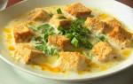 Сытный хлебный суп