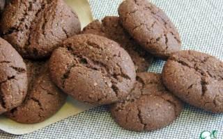Кофейно-овсяное печенье