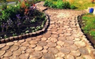 Приводим в порядок садовые дорожки после зимы